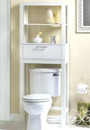 behind toilet rack shelf over the storage . Behind Toilet Rack Bathroom Cabinets Home Decor Above Cabinet