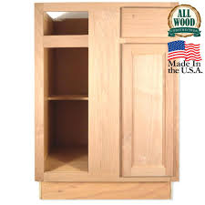 unfinished kitchen wall cabinets wood oak double door cabinet home depot