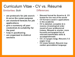 What Does Cv Mean In Resume Jalcine Me