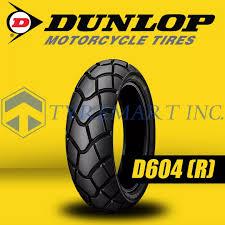 <b>Dunlop D604 4.10</b>-18 59P Tubetype Dual Action Motorcycle Tires ...
