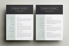 Resume Designs Interesting 28 Great Minimal Design CV Designs