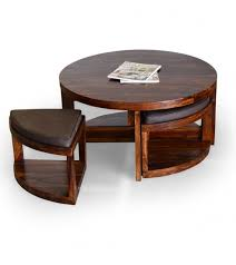 gorgeous round coffee table with stools underneath round coffee intended for coffee table with chairs underneath