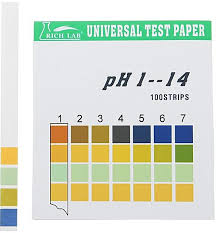 Tetra Test Strips Color Chart Bright Easy Strips Color Chart Aquarium Ph Color Chart Water