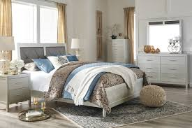 Olivet Bedroom 5pc Set B560 In Silver Finish By Ashley Furniture