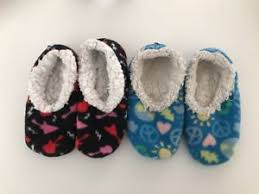 Snoozies Size Chart Details About Snoozies Kids Slippers Size 13 1 Guitar Red Pink Black Peace Sign Set Of 2
