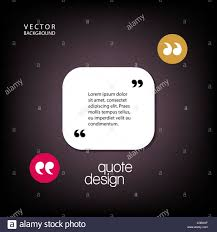 Digital Vector Quote Frames Box Blank Template With Print