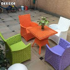 modern wicker patio furniture. Interesting Wicker 5 Pieces Modern Wicker PE Rattan Outdoor Patio Dining Table Set With Chairs  And Glass Topin Garden Sets From Furniture On Aliexpresscom  Alibaba  And I
