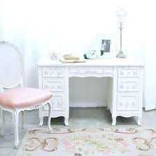 white french desk shabby cottage chic 6 drawer writing desk white french vintage style office furniture