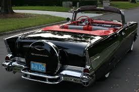 On eBay: A 1957 Chevrolet Bel Air Two-Door Convertible Dual Quad