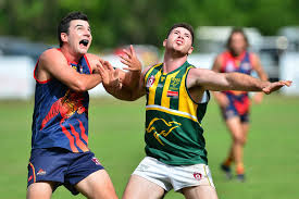 AFL action in Noosa between Noosa and Maroochydore. Will O'Dwyer ... | Buy  Photos Online | Northern Star