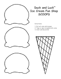 Small Picture Ice Cream Coloring Pages For Kids And Ice Cream Cone Coloring Page
