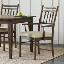 riverbank upholstered dining room arm chair