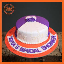Bridal Shower Purple Theme Cake Delivery All Over Karachi