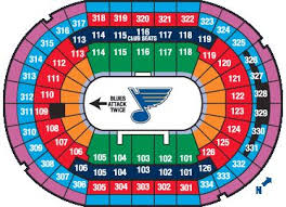 St Louis Blues Seating Chart Detailed St Louis Blues 3d Seating Chart Template