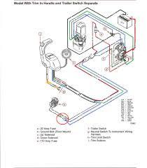 boat wiring harness solidfonts mercury marine model 402 40 hp starter motor rectifier wiring