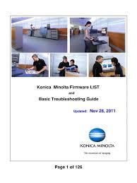 Konica minolta bizhub 601 win 10 driver. Konica Minolta Firmware List Remote Desktop Services Usb Flash Drive