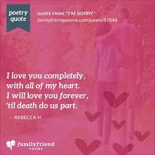 Poem About Feeling Incomplete Without Significant Other I'm Sorry Interesting I M Sorry Love
