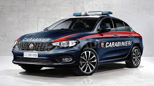 Fiat Tipo looking good in Carabinieri and Polizia liveries