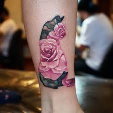 Tattoo Ink тату татуировка Ksuarrow Cat Cattattoo Roses Rose