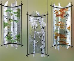 custom fused etched art glass chandelier lighting fixtures by crystal glass studio