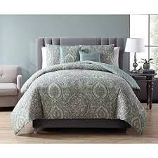 Grey Pattern Comforter