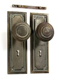 old fashioned door knobs sold antique brass arts crafts door hardware set with knobs plates brass old fashioned door knobs