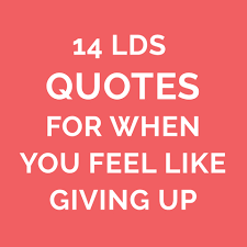 Lds Quotes On Faith Custom 48 LDS Quotes On Faith For When You Are Discouraged LDS Living