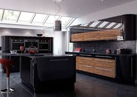 Kitchen Floor Cupboards White Kitchen Black Tiles Modern Kitchen Design Dark Grey Floor