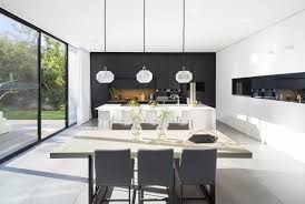 simple modern house. Contemporary Simple Modern Kitchen And Dining Room In Simple Modern Home By SacharRozenfeld  Architects For Simple House