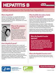 cdc hepatitis b vaccine information sheet campaign materials know hepatitis b cdc