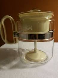 Maybe you've heard the name. Vtg Gemco Brand Heat Resistant Glass Coffee Pot Percolator Stainless Steel Band Ebay