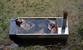 japanese soaking tub outdoor extravagant soak wood propane fired by ox monkey design home ideas 19