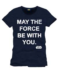 Star Wars May The Force Be With You T-Shirt | Krieg der Sterne T-Shirt