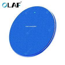 <b>OLAF 10W</b> Wireless Fast Charger for iPhone Xs Max X 8 Plus for ...