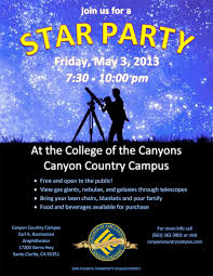 Star Party Flyer Omfar Mcpgroup Co