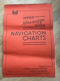 1965 Us Army Corps Engineers Upper Mississippi River Navigation Charts Pool 12 Ebay