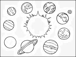 New Coloring Pages Endearing Solar System Coloring Pages Solar