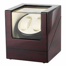 Luxury Automatic Mechanical <b>Watch</b> Winders Black <b>Motor Shaker</b> ...