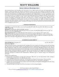 agile development resume
