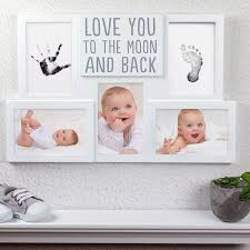 baby collage frame babyprints collage frame pearhead