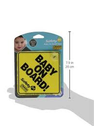 Safety 1st <b>Baby On Board</b> Sign