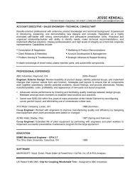 Engineering Resume Objective Statement Mechanical Summer