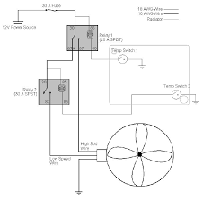 fantastic fan thermostat wiring diagram fantastic wiring diagram for dual electric fan the wiring diagram on fantastic fan thermostat wiring diagram