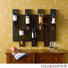 holly martin santa cruz wall mount wine rack 93 022 062 5 22 2 raw