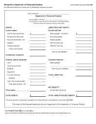 Account Receivable Statement Template Sample Nonprofit Balance Sheet Zaxa Tk