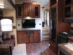 new 2013 forest river sandpiper f365saq fifth wheel travel trailer for 2013 forest river sierra sandpiper 365saq quad bunks outside kitchen
