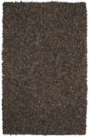gl leather area rug dark brown furniturendecor gray rugs patch white round black patchwork red gold