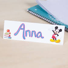 Mickey Mouse Classroom Student Name Card | Disney Family