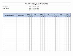 Shift Scheduling Excel Spreadsheet Free Monthly Work Scheduleplate Weekly Employee Hour