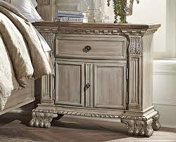 antique white nightstand. Orleans Antique White Night Stand Nightstand N